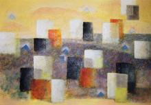 Ibrahim KODRA - Pintura - Urbanistica 1