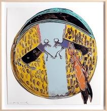 Andy WARHOL (1928-1987) - Plain Indian Shield fs382