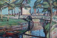 Jupp OBERBOERSCH - Painting - BEEK