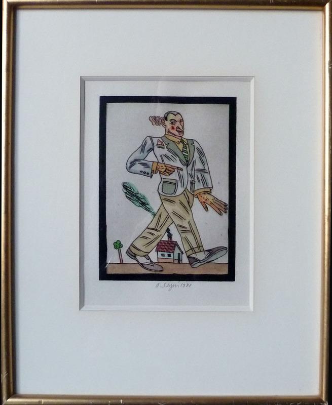 Antonio SEGUI - Drawing-Watercolor - La Marche