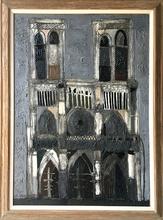 Claude VENARD - Peinture - Notre Dame