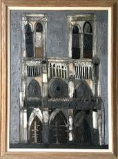 Claude VENARD - Painting - Notre Dame