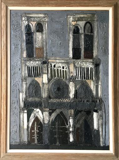 Claude VENARD - Pittura - Notre Dame