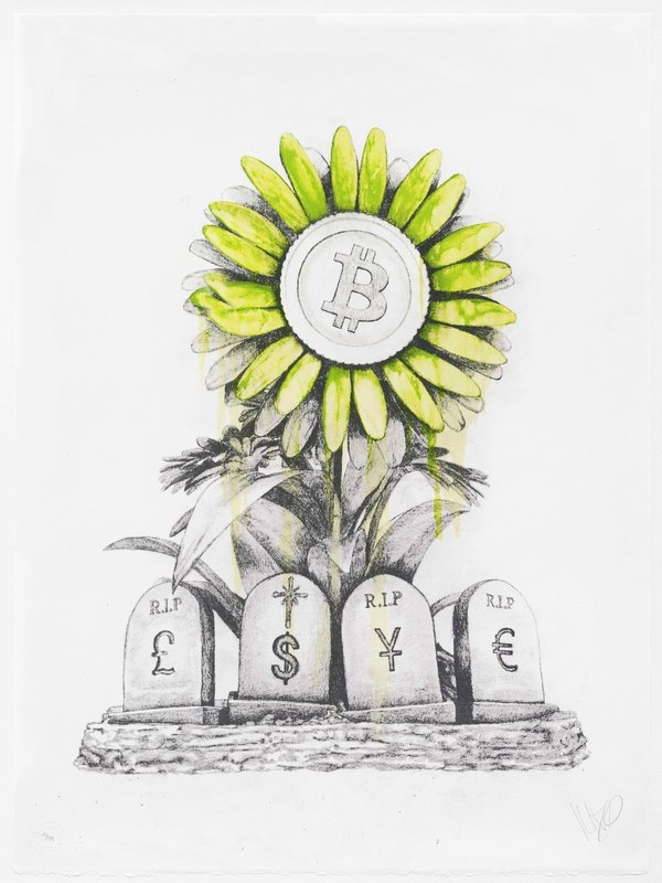 LUDO - Druckgrafik-Multiple - R.I.P. Banking System