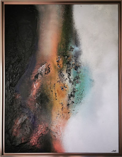 Elodie DOLLAT - Painting - Mérindos