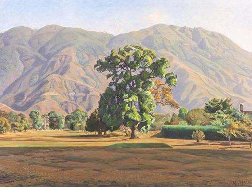 Manuel CABRÉ - Pintura - Paisaje desde el Country Club