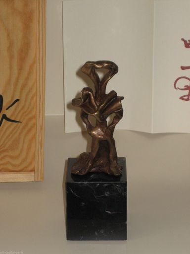 Salvador DALI - Sculpture-Volume - BRONZE 1974 LA CLEF SIGNÉ NUMÉROTÉ SIGNED NUMBERED BRONZE