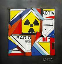 Fernando DA COSTA - Sculpture-Volume - Radioactive