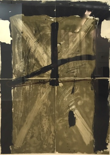 Antoni TAPIES - Druckgrafik-Multiple - Trois Gris Et Marron