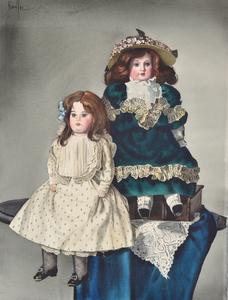 Gunter KORUS - Painting - Model Dolls