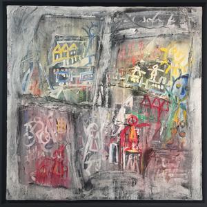 Vittorio BELLINI - Painting - W arriva il treno, 2008