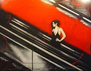 Fabio CALVETTI - Gemälde - Il tuo viaggio