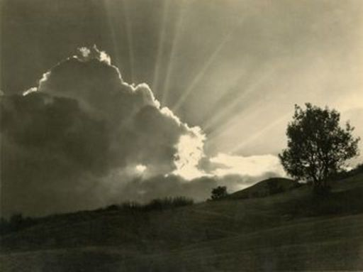 Johann FEUERSTEIN - Photo - Sonne Baum Wolken