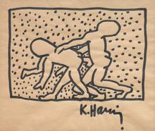 Keith HARING (1958-1990) - Uten tittel