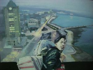 JIANG BO - Painting - Urban Stranger