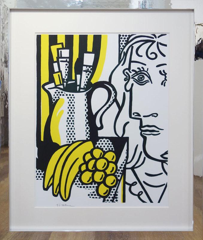 Roy LICHTENSTEIN - Grabado - Hommage á Picasso