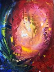 Shijo Alan BURNER - Gemälde - Quête de l'Éternité