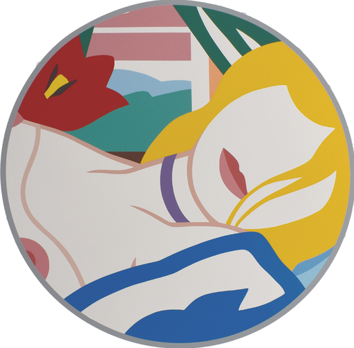 Tom WESSELMANN - Estampe-Multiple - Blonde Vivienne