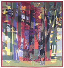 Camille HILAIRE - Tapisserie - la forêt