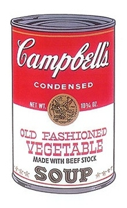 Andy WARHOL, Campbell's Old fashioned Vegetable Soup