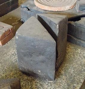 Giuseppe SPAGNULO - Sculpture-Volume - Cubo spezzato