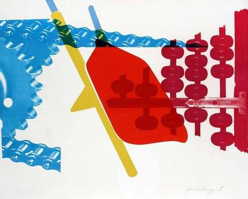 James ROSENQUIST - Print-Multiple - Whipped butter for Eugene Ruchin