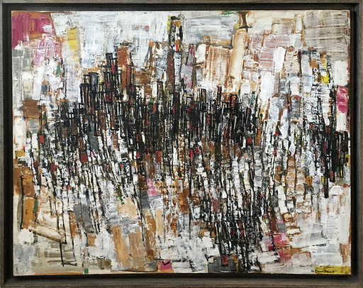 Natalia DUMITRESCO - Peinture - Composition