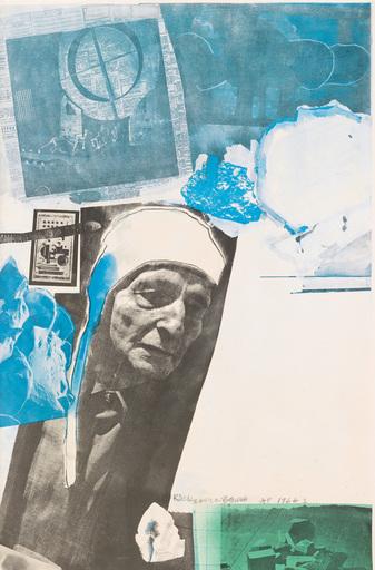 Robert RAUSCHENBERG - Stampa Multiplo - Homage To Frederick Kiesler
