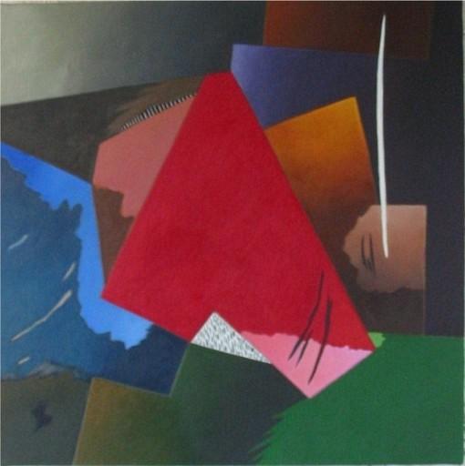Daniel François CAYO - Peinture - Enfouissement