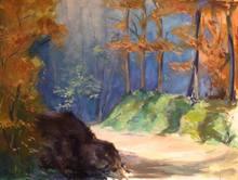 Luciana LA MARCA - Painting - SUNNY PATH