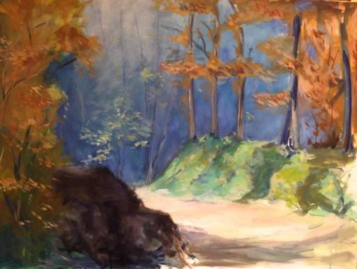 Luciana LA MARCA - Peinture - SUNNY PATH