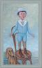 Roman ANTONOV - Peinture - Reads poem