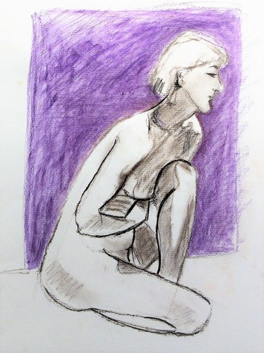 R.CAVALIÉ - Drawing-Watercolor - N.R. 151