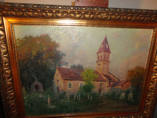 Carlo BRANCACCIO - Painting - Eglise De Saint Point