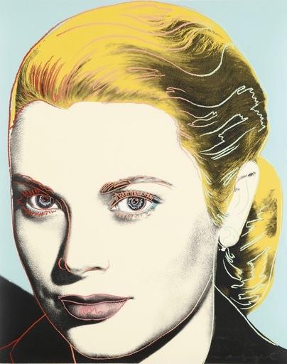 Andy WARHOL - Print-Multiple - Grace Kelly