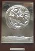 Salvador DALI - Sculpture-Volume - EVE SPATIALE 1977 BAS RELIEF EN ARGENT 925/1000 SIGNÉ