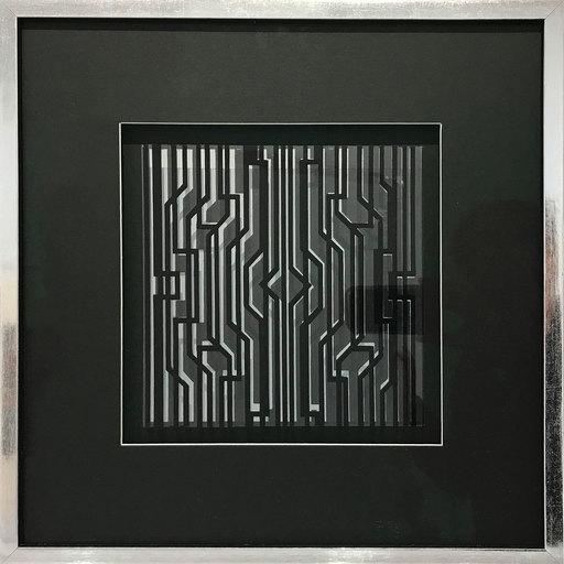 Victor VASARELY - Grabado - Kleines kinetisches Objekt II