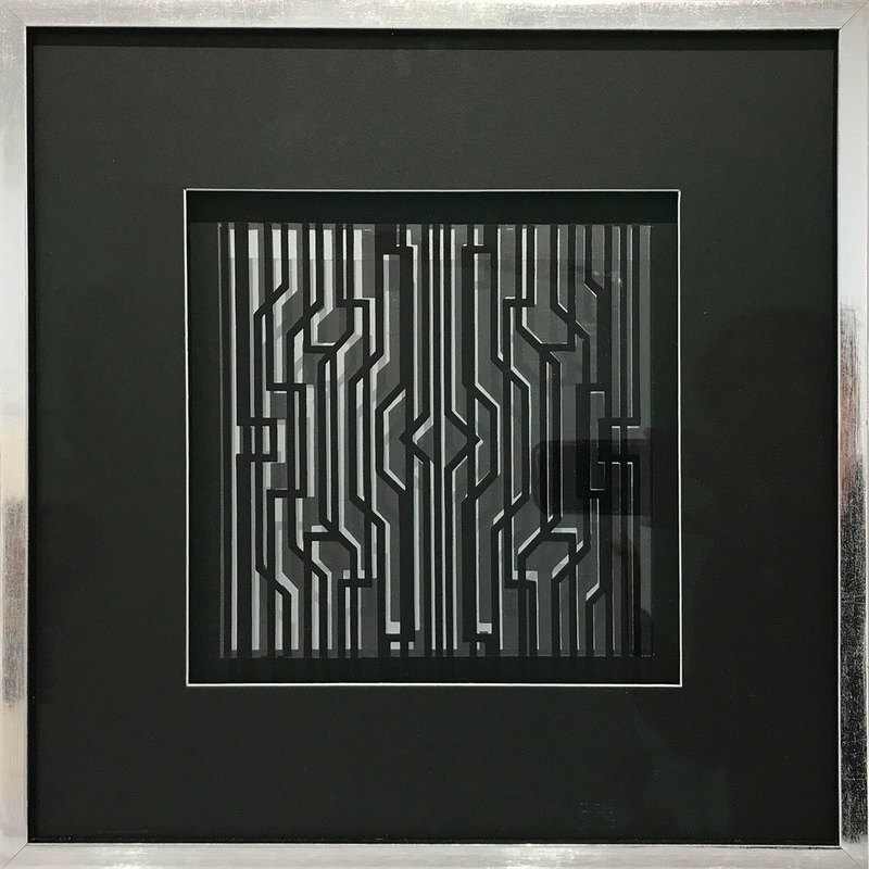 Victor VASARELY - Print-Multiple - Kleines kinetisches Objekt II