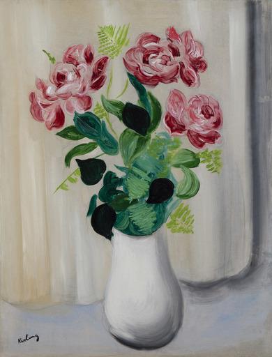 Moïse KISLING - Pittura - Bouquet de fleurs