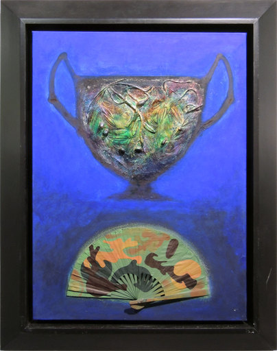 Silvio MERLINO - Painting - Ventaglio da combattimento