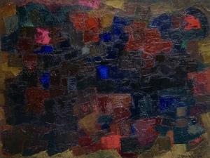 Enzo BRUNORI - Pintura - NOTTURNO