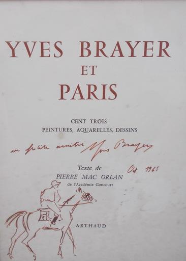 Yves BRAYER - Drawing-Watercolor - Brayer et Paris