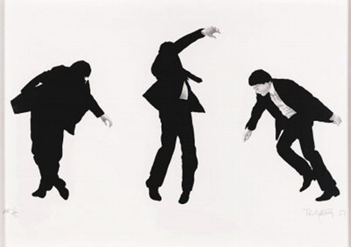 Robert LONGO - Stampa Multiplo - Untitled