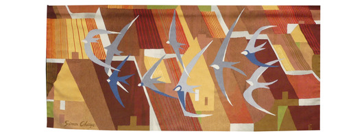 Simon CHAYE - Tapestry - les toits