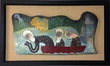 Manuel MENDIVE - Painting - El Viaje