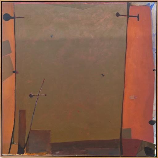 Otto Donald ROGERS - Painting - Orange Edge