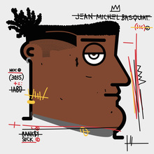IABO - Painting - Samo - Jean Michel Basquiat