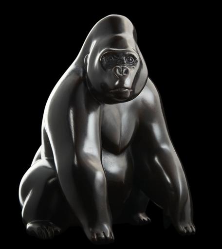 Michel BASSOMPIERRE - Skulptur Volumen - Le Dos Argenté n°1