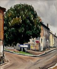 Takanori OGUISS (1901-1986) - Marronnier a Poisson, Haute-Marne