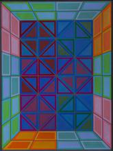 Victor VASARELY - Peinture - Kapolna-Tsa